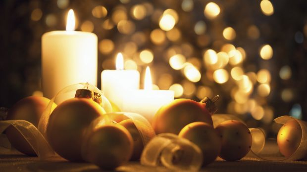 Candles at Christmas are symbols of hope.