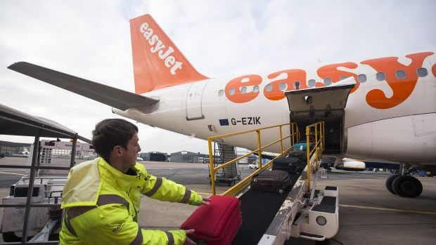 EasyJet advises passengers to travel with hand luggage only.