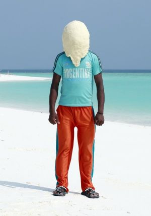 Yosuf, Maldives, 2011. From Dough Portraits.