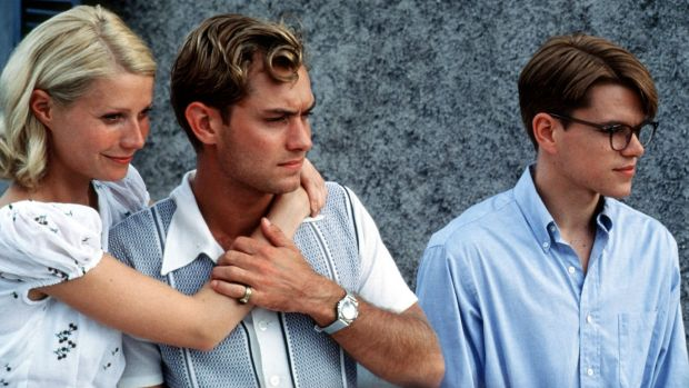 Gwyneth Paltrow, Jude Law and Matt Damon star in Anthony Minghella's The Talented Mr Ripley, screening at Rooftop Cinema.