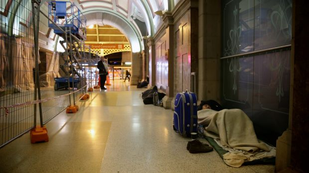 There were more rough sleepers in Sydney in August than in any winter since 2009.