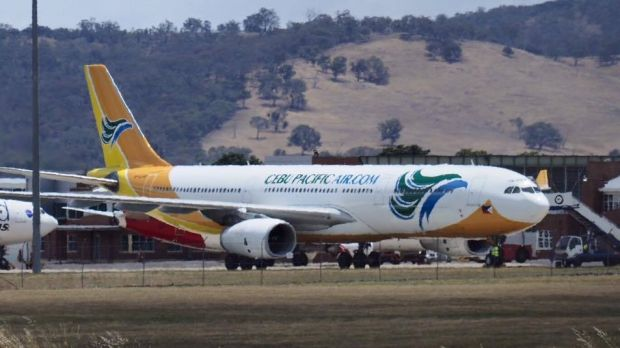 A Cebu Pacific A330 from Manila to Sydney was diverted to Canberra on Wednesday afternoon.
