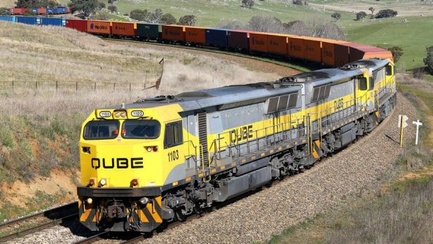 Qube is eyeing Aurizon's freight assets.