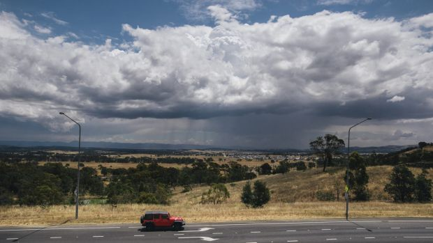 Canberra can expect more rain later in the week after a string of warmer than average days.