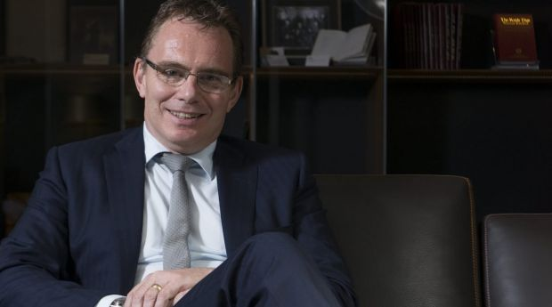 Time for change: BHP Billiton CEO Andrew Mackenzie.