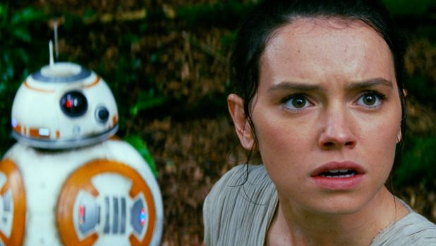 It looks great, but where's the wonder? Daisy Ridley, as Rey, is one of the few new elements in <i>Star Wars: The Force ...