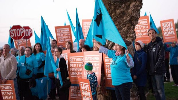 Roe 8 protesters had a short-lived win last month.