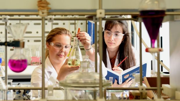 Sydney University students Emma Watson and Vicki Stanojevic. Watson says female researchers are all too aware of the ...