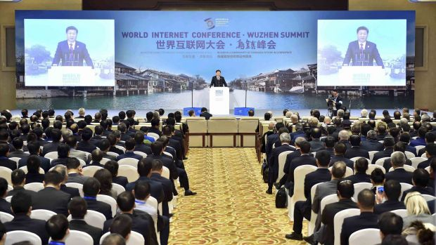 Chinese President Xi Jinping called for governments to co-operate in regulating internet use, stepping up efforts to ...