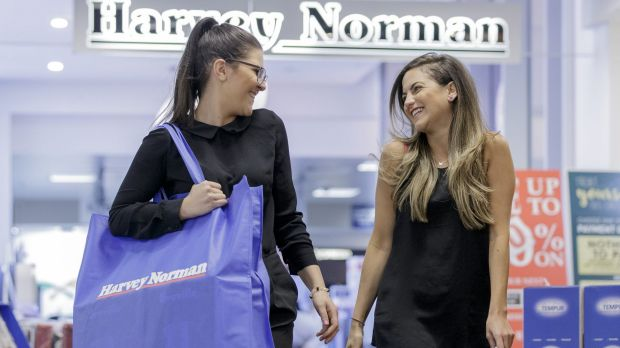 Harvey Norman shares were heavily sold down on Monday, after a director reduced their stake as Credit Suisse speculated ...