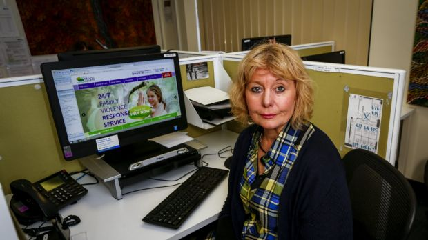 Annette Gillespie, the head of Safe Steps.