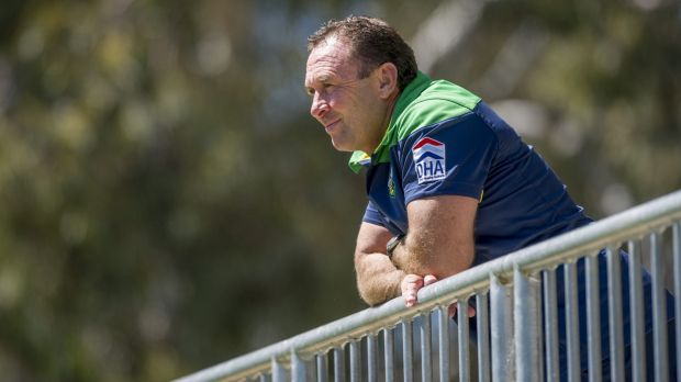Ricky Stuart has now got 'his' squad at the Raiders. And with it comes the pressure to make the finals.