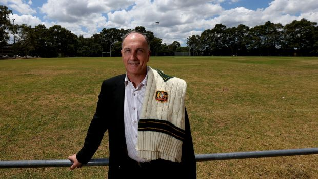 Former Australian cricketer and current CEO of Parramatta Council, Greg Dyer at Richie Benaud Oval in Sydney.