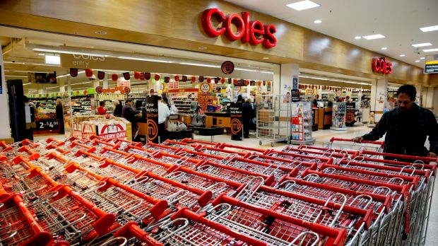 Coles has apologised to shoppers caught up in its pre-Christmas online shopping bungle.