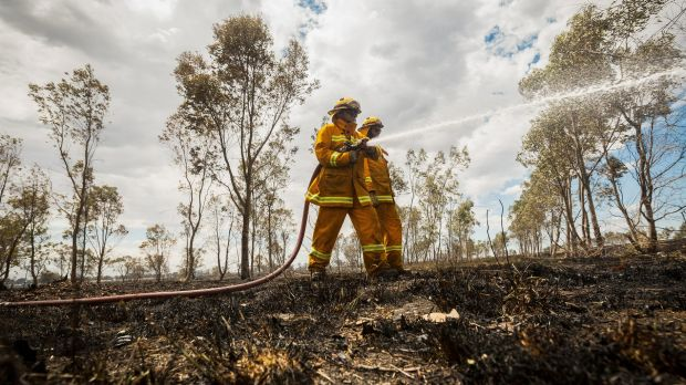 Firecrews have contained a  blaze in the Gingin area. File image.