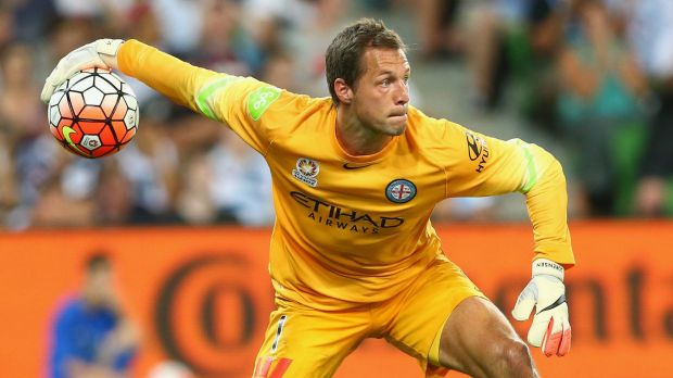 City keeper Thomas Sorensen.