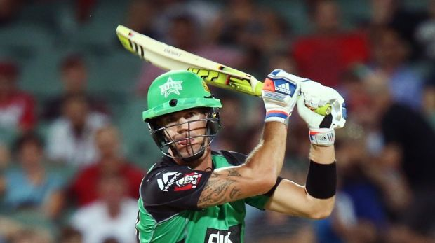 Heavy hitter: Kevin Pietersen in action for the Stars.