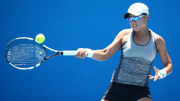 Alison Bai hopes to spearhead the Canberra Velocity's bid to win the ATL title this week.