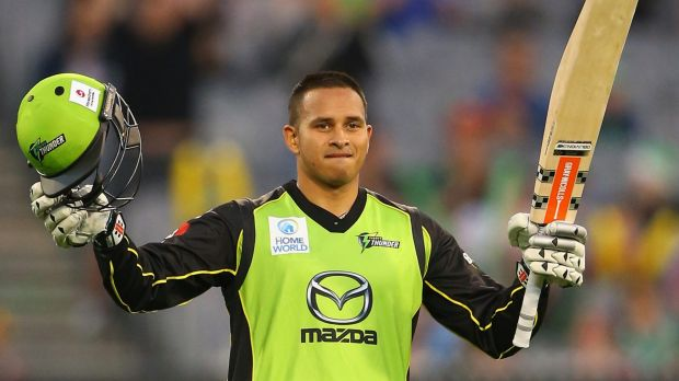 Stars' Usman Khawaja is set for a Boxing Day Test spot.