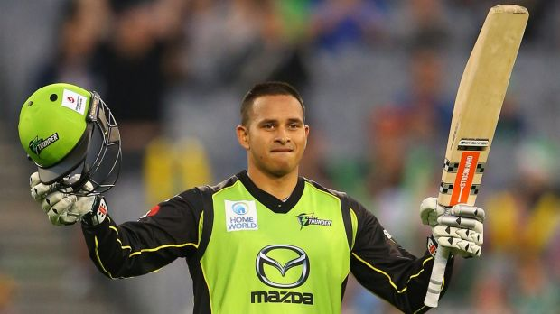 Left out: Usman Khawaja.