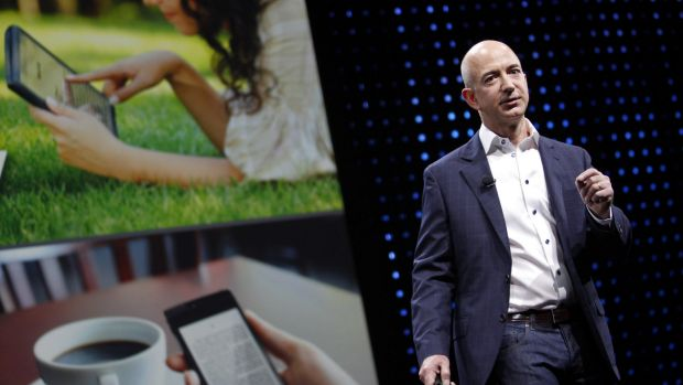 Amazon, headed by Jeff Bezos, has signalled major ambitions in TV.