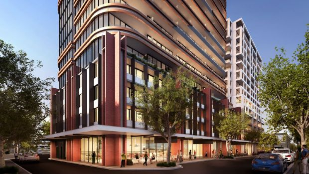 An artist's impression of Caydon's vision for 40 Hall Street in Moonee Ponds.