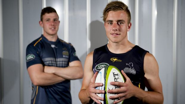 Next generation: Rising Brumby Jordan Jackson-Hope, front, will play for the club's under-20s team in a new competition.