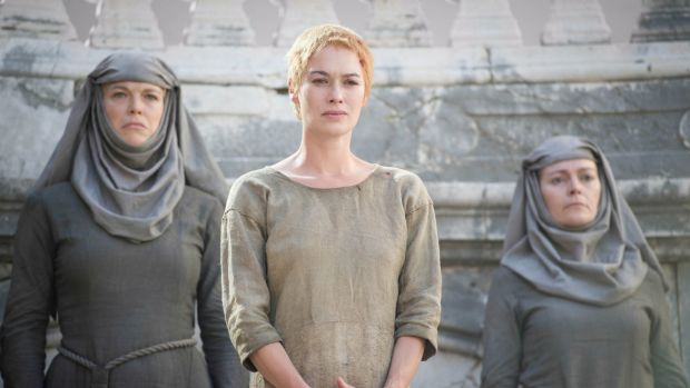 Lena Headey, centre, will return as Queen Cersei Lannister in <i>Game of Thrones</i>.