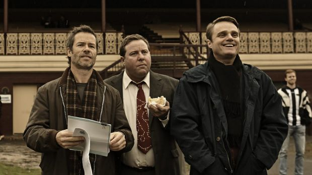 Guy Pearce, left, will return as private investigator and debt collector Jack Irish in a series of the same name.