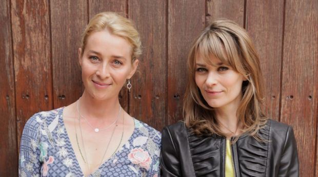 Asher Keddie, left, and Kat Stewart will return as the Proudman sisters, Nina and Billie, in <i>Offspring</i> next year.