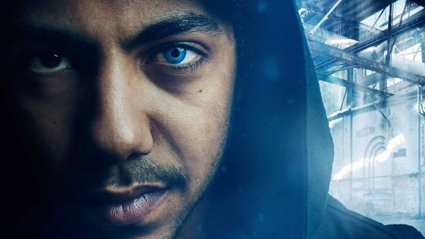 Hunter Page-Lochard as the ruthless Koen in <i>Cleverman</i>.