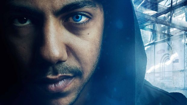Hunter Page-Lochard as Koen in <i>Cleverman</i>, a sci-fi thriller set to air on the ABC.