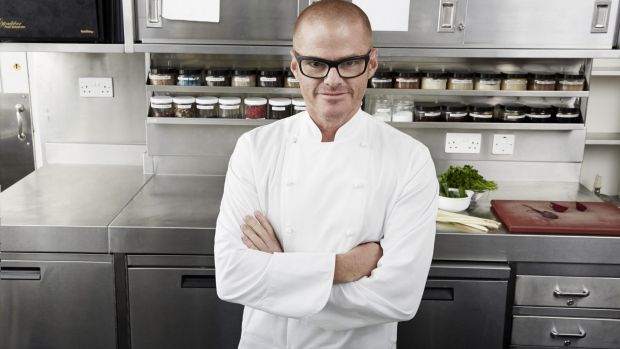 Heston Blumenthal: roaring success.