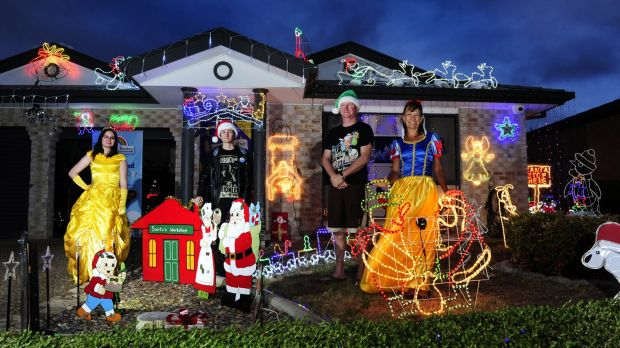 The Anthoney family decorate their home every year to remember Dainere.
