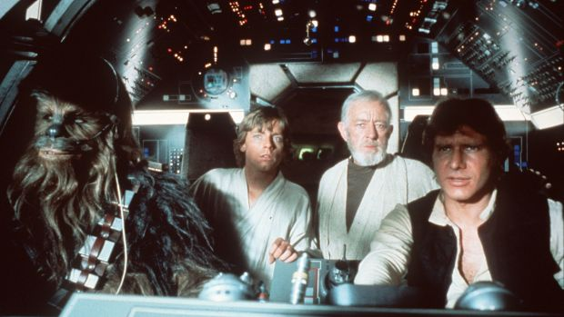 <i>Star Wars</i> inspired devotion from the start, even prompting some fans to become pilots.