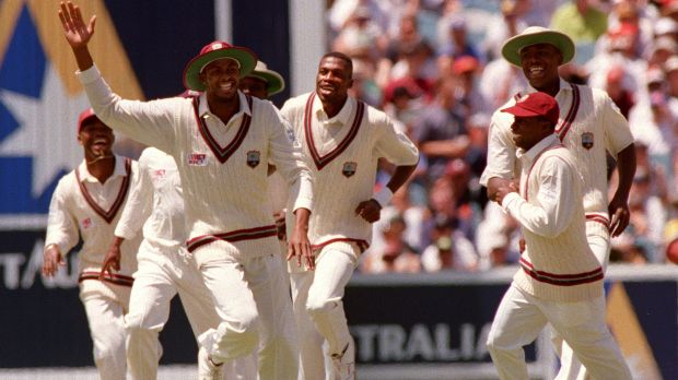 """I would have thought we'd be back heading in the right direction, competing well"": Courtney Walsh, seen here in his ..."