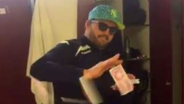Adam Ashley-Cooper's teammates posted a video of him at his new locker to the music of Jessie J's Price Tag, with the ...