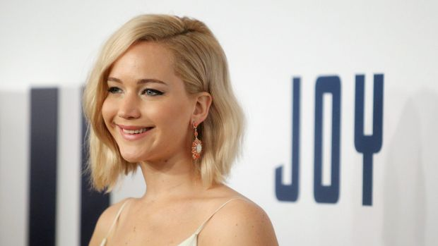 Jennifer Lawrence attends the New York premiere of her new film Joy at the Ziegfeld Theatre.