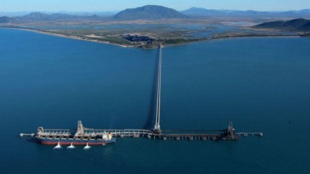 The Abbot Point coal terminal is located near Bowen in North Queensland.