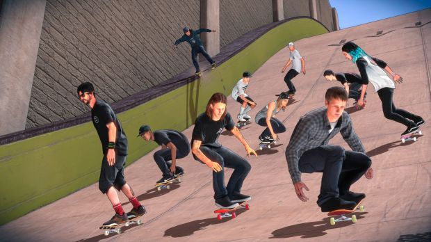 Tony Hawk's Pro Skater 5 is the first cab off the ranks. Ow, my memories.