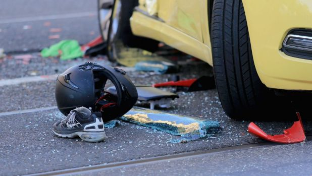 There has been a big jump in the number of motorcyclists killed on Victoria's roads