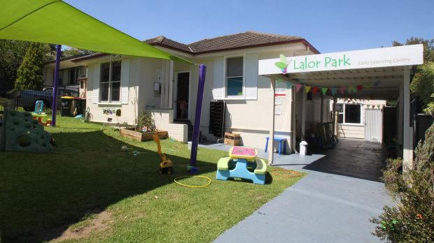 An early learning centre in Lalor Park, near Blacktown in Sydney's western suburbs.