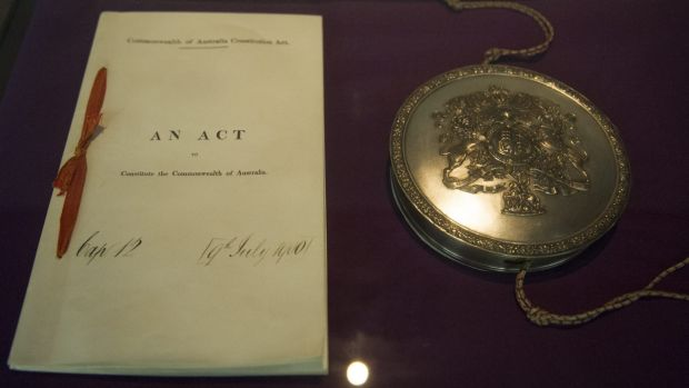 An original version of the Commonwealth of Australia Constitution Act, passed at Westminster in 1900, will be on display ...