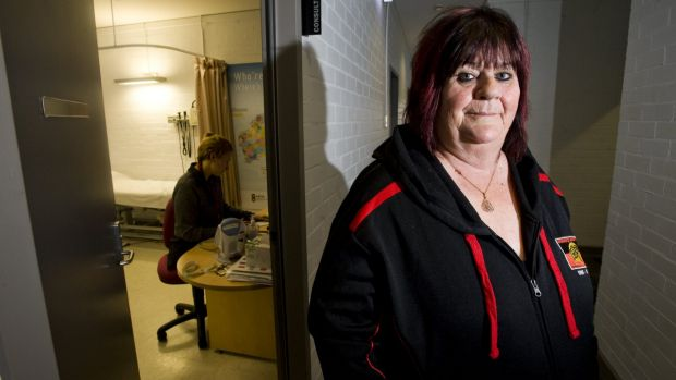 Winnunga Nimmityjah Aboriginal Health Services chief executive Julie Tongs said many clients faced comorbidity, or ...