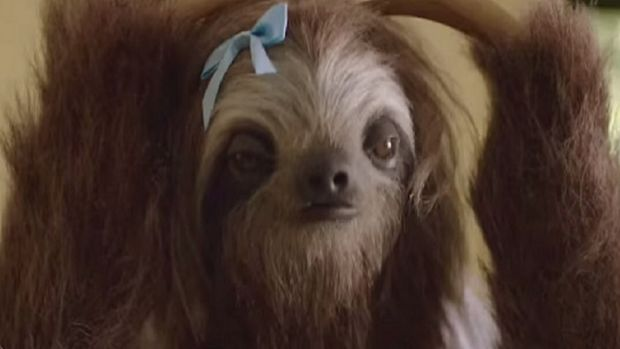 "The ""Stoner Sloth"" campaign cost $350,000 to roll out."
