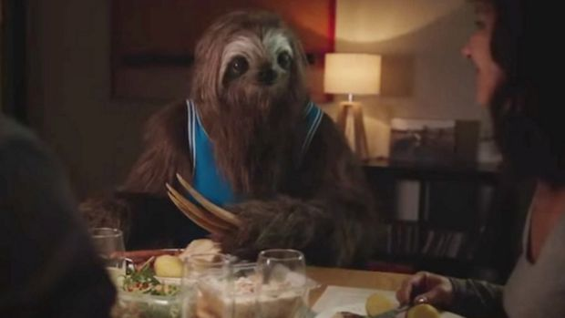 """An image from the state government's """"Stoner Sloth"""" campaign."""