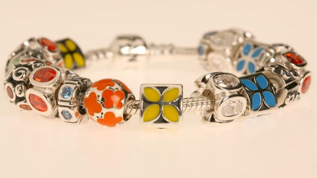 Pandora's charm bracelets helped the Danish-based company lift sales by 40 per cent in Australia last year.