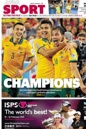 The Socceroos made us proud in February
