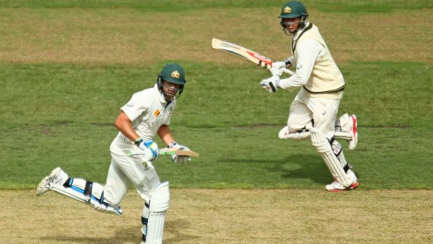 Runs came easy for both Joe Burns and Usman Khawaja at the MCG.