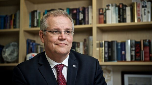 Taxing times: Treasurer Scott Morrison.